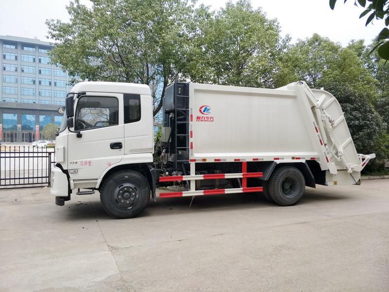 东风专用12方压缩垃圾车2